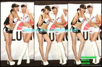 2007년 AutoSalon_ 이현진 & 손보영