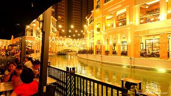 필리핀에서 이탈리아 베네치아를 느낄 수 있는 BGC Venice에 가다.