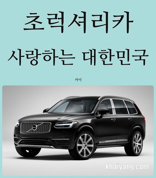 자동차 소비 양극화? 럭셔리카와 사랑에 빠진 대한민국
