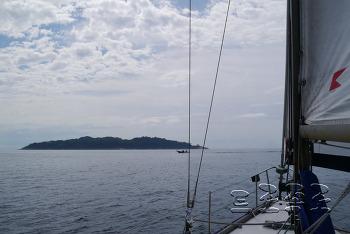 거제세일링 클럽 (Geo-je Sailing Club)에서의 크루즈 요트 '피콜로호'와 지심도 항해후기