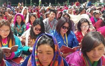 티베트 달라이 라마, 인도 타왕 법회에 부탄인 약 3천명 참석
