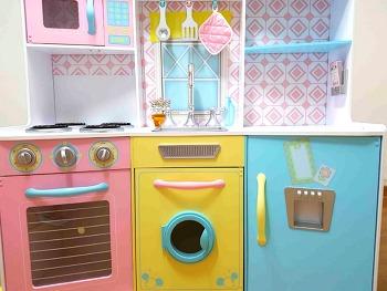 키즈크래프트 Sweet treats Kitchen 주방놀이 조립 후기!