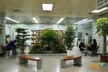 부평구청역에서 만나는 책과 나눔의 공간 '지하철 책 읽는 쉼터'