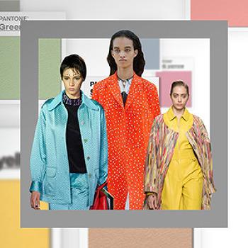 팬톤이 선정한 2017 패션 컬러