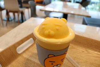 LG 아트센터 뮤지컬 시라노 리뷰 - 홍광호, 카카오프렌즈 라이언 프라페, 파스퇴르 아이스크림