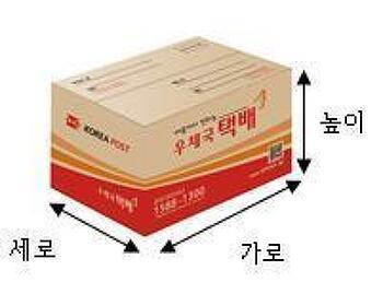 우체국 택배박스 크기 및 가격 :: 택배박스 파는 곳