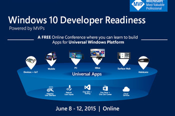 Windows 10 Developer Readiness 지금 등록하세요!
