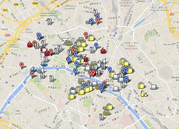 D-1 Paris (파리에서 가야할 곳 목록 정리)