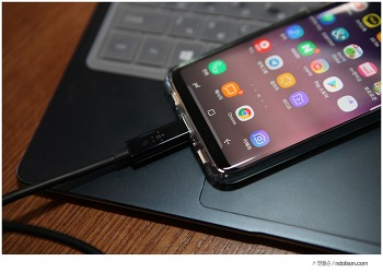 USB-C 케이블 USB 3.1 속도 체감! 벨킨 고속충전 케이블