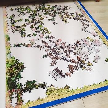 직소퍼즐) 프랑스, 분홍 퍼즐과 에펠탑 ing