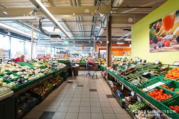 스위스 슈퍼마켓:  미그로스 (MIGROS) &  쿱 (Coop) 장보기
