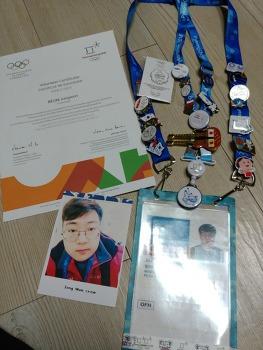 180304 일 평창동계올림픽 자원봉사 일기 에필로그 _ Pin Trading???!!!!