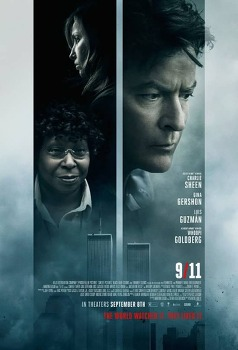 영화 '나인 일레븐 9/11, 2017' 무역센터에 갇힌 찰리 쉰