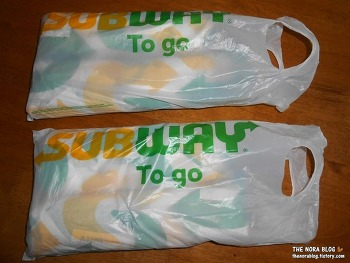 [미국] Subway Sandwich 써브웨이 샌드위치 Meatball Marinara & Spicy Italian