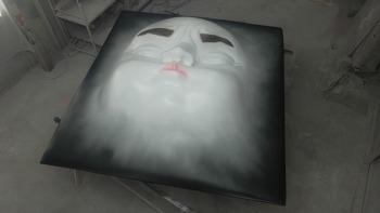 안면(얼굴) 조형물