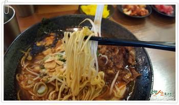 갈현동 라멘 맛집, 카도야라멘에서 얼크하게 해장