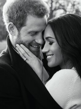 Prince Harry and Meghan Markle Release Their Official Engagement Photos