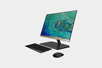스마트폰 무선충전하는 올인원 PC! 에이서 아스파이어 S24