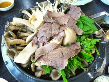 하남 은고개 맛집, 시원한 만두전골을 착한가격에 먹는 만두집~