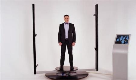 1시간에 40명을 스캔! Texel 의 새로운 3D 스캐너등장.