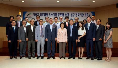 미즈메디병원, 강남구청서 외국인환자 우수기관 선정
