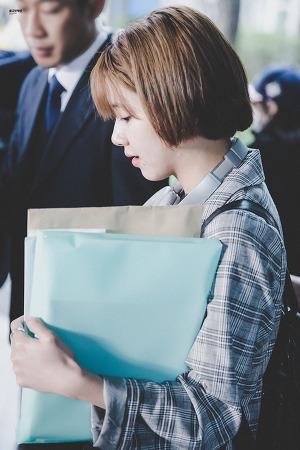 [170430] 인천공항 입국 - 채영이