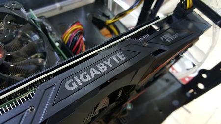 기가바이트 GTX1070 간단 테스트!