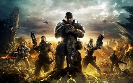 '기어스 오브 워 Gears of War' 게임 시리즈의 영화화 소식