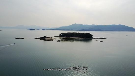 남해 섬구경 볼개섬과 그 주변