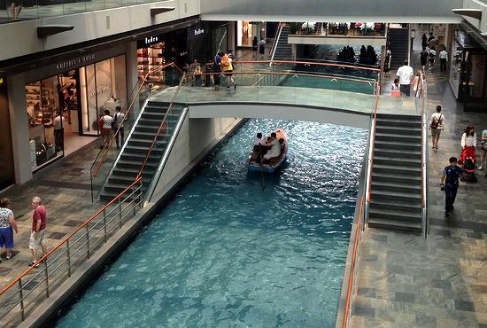[싱가포르 여행기] 쇼핑몰에 운하가!