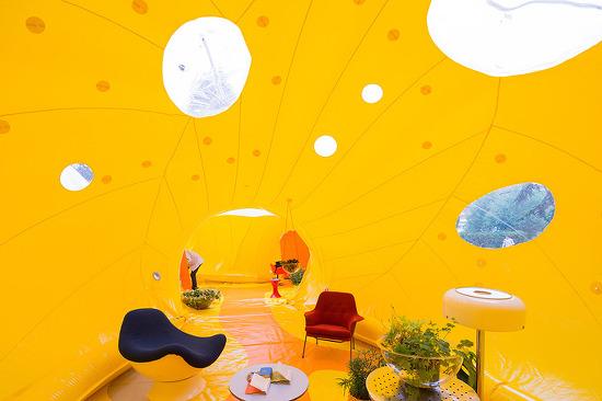 *버블버블 파빌리온 [ DOSIS ] reconfigurable + inflatable architectural structure in london