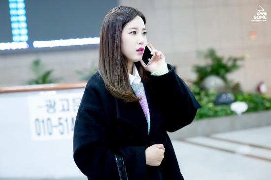 161104 김해공항 도착