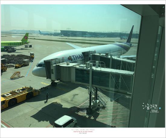 홍콩 여행 - 타이항공 TG629를 타고 홍콩으로