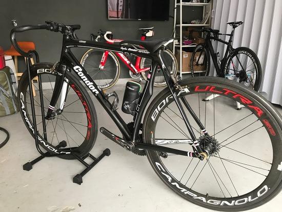 자전거 자가도색 - 콘돌 레제로 로고 부분도색 후기
