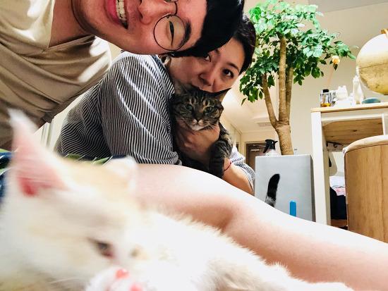 첫 가족사진