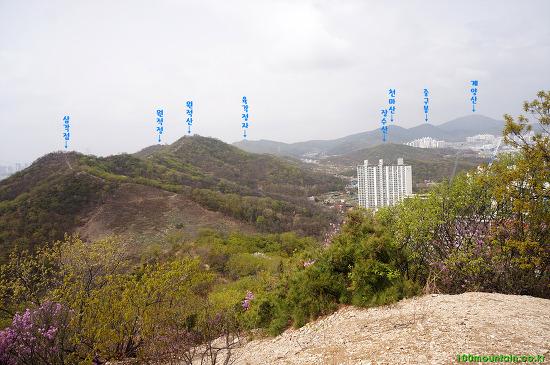 인천 종주길 3코스 : 루원교 ~ 원적산 ~ 함봉산 ~ 백운공원 ~ 백운역