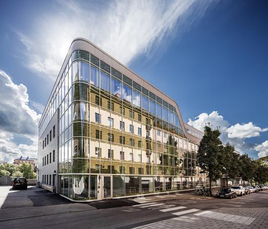 *스웨덴 오피스 빌딩-[ Sweco Architects ] Atlas Garden