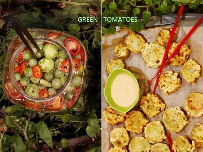 알뜰살뜰요리, 그린토마토 저장하고 먹는 방법..