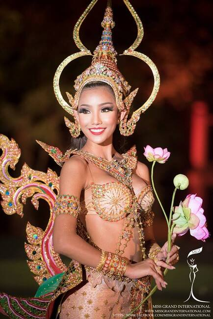 [볼거리]태국 미스그랜드 전통의상 2015