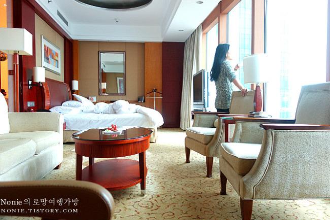 상하이 호텔여행! 스파와 조식이 훌륭했던 특급 호텔, 샹..