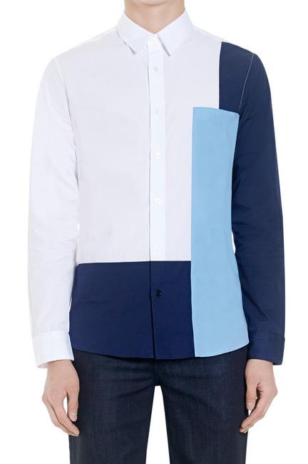 16fw plac jean 플랙진 블록 셔츠