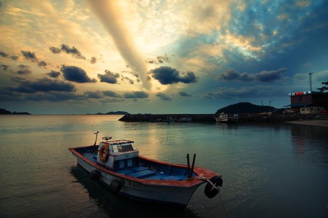 2013 해남바닷가의 풍경