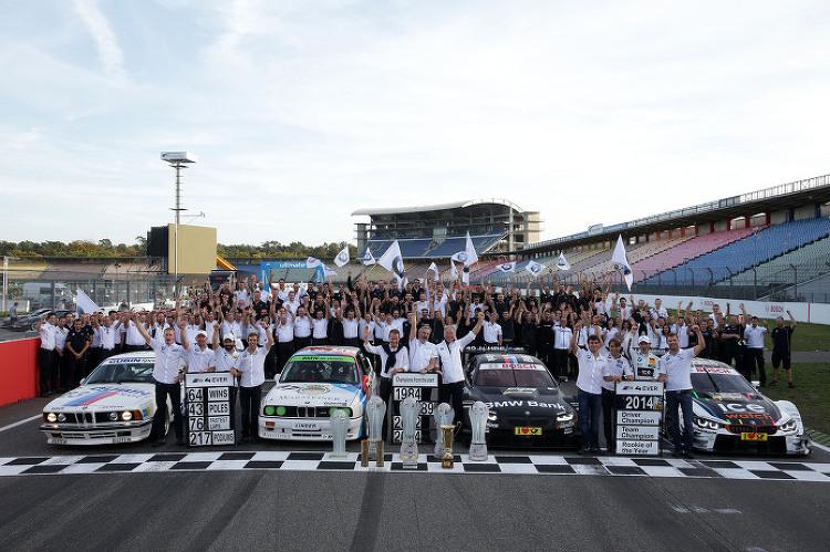 BMW in the DTM: Twelve seasons, 64 wins..