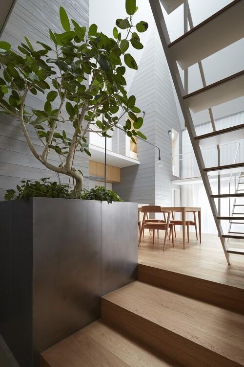 일본 Aichi의 최소형 협소주택-[ Airhouse ] House in Iwakura