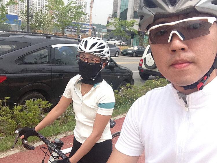 2016년 5월 23일 - 아내와 한강 힐링 라이딩