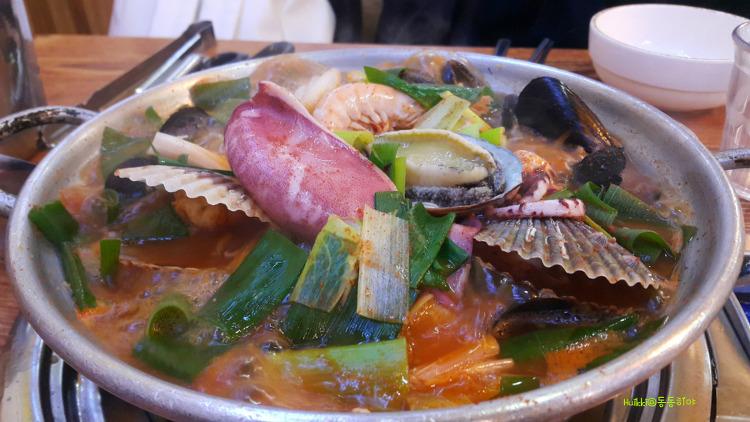 박승광최강해물칼국수 일산 칼국수 해물이 왕창들어간 맛집