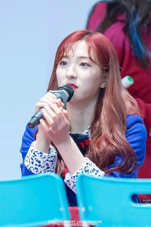 [직찍] 180401 4th Mini Album [Dream your dream] 발매 기념 부산 팬사인회 우주소녀 #1