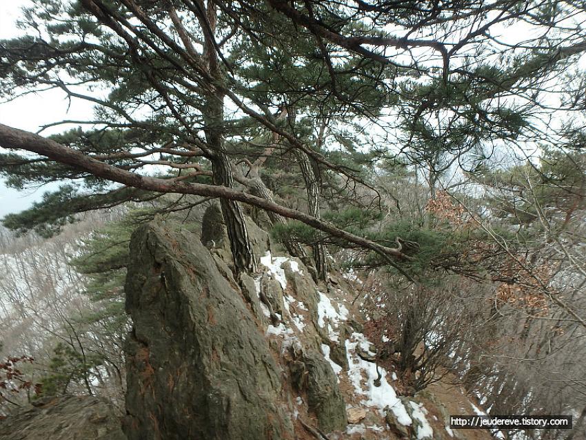소요산 산행(2월중순), 겨울의 끝자락