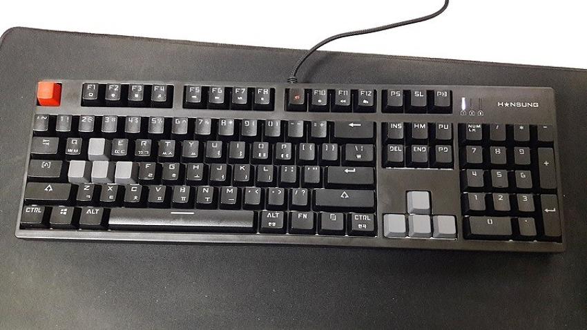 한성컴퓨터 mcf7 기계식키보드