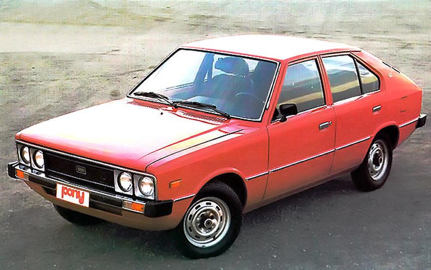 대한민국 최초의 고유모델 현대자동차 포니